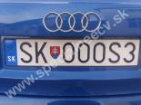 SKOOOS3 značka č. 7200-SK-OOOS3