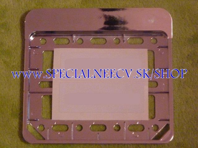 119.TYP: podložka pod tabuľku - strieborná