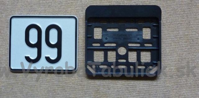 112.TYP: Tabuľka súpisného čísla na dom 2 ciferná