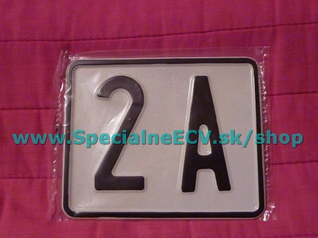 VIEME VYROBIŤ: súpisné orientačné číslo na dom