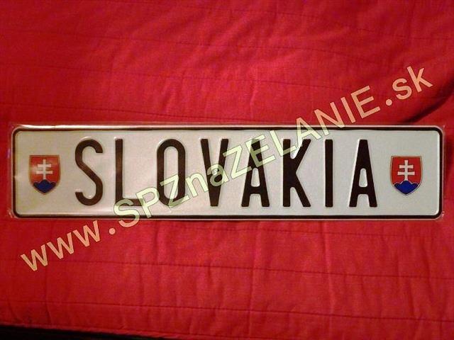 10.TYP: AUTO tabuľka SLOVAKIA