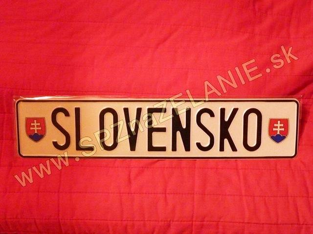 11.TYP: AUTO tabuľka SLOVENSKO
