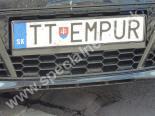 TTEMPUR značka č. 4400