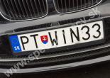 PTWIN33 značka č. 6200